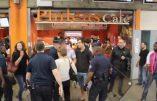 Vidéo: Duflot et Placé, surprotégés par des policiers et bien accueillis à la gare de Montparnasse !