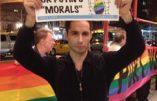Un militant gay interrompt un concert