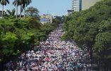 Costa Rica – Grande marche catholique contre l'avortement et contre la dénaturation de la famille