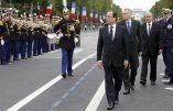 Vidéo : Hollande hué sur les Champs-Elysées !