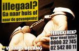 David Cameron inspire la nouvelle campagne du Vlaams Belang contre les immigrés illégaux