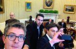 Nos journalistes se comportent comme des touristes dans les couloirs de la Maison Blanche