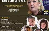 Marine Le Pen interdite de meeting à Bruxelles ?