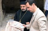 Assad s'est rendu dans la ville chrétienne de Maaloula pour Pâques