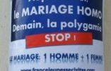 Du « mariage » homosexuel au polyamour