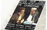 Alain Delon apporte son soutien à Christine Boutin