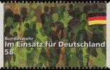 L'Allemagne édite un timbre à la gloire de ses soldats en OPEX