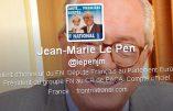 Jean-Marie Le Pen remet Florian Philippot à sa place