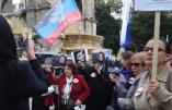 Manifestation pour la paix en Ukraine : les citoyens russes et ukrainiens dénoncent les manipulations occidentales