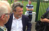Jean-Louis Borloo s'est reconverti dans le football à Valenciennes