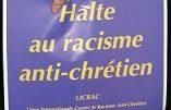 Antichristianisme de la Ligue des droits de l'Homme et haine des crèches de Noël