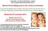 Marche pour la Vie le 23 novembre à Rombies