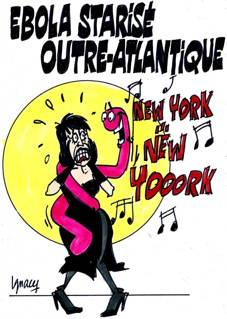 Ignace - Ebola à New York