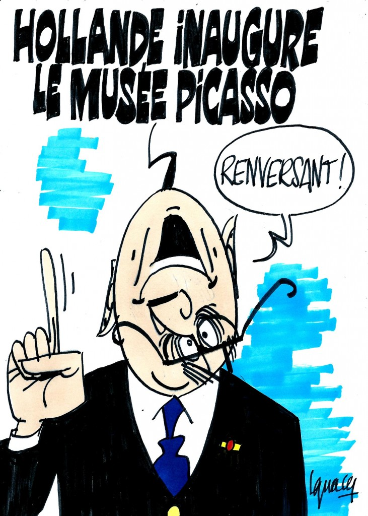 Ignace - Hollande au musée Picasso