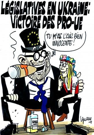 Ignace - Victoire pro-UE en Ukraine