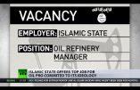 L'Etat Islamique recrute un manager pour diriger ses ressources pétrolières