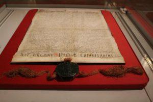 Charte de la fondation de la Sainte Chapelle