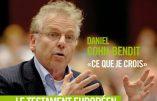Daniel Cohn-Bendit prépare un livre sur son identité juive