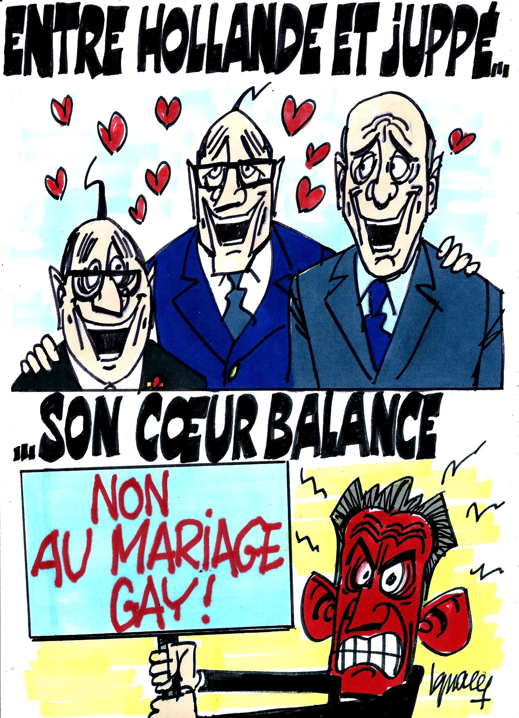 Ignace - Chirac hésite entre Hollande et Juppé