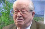Jean-Marie Le Pen dénonce le «racisme biologique» du CRIF