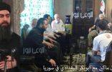 Al-Baghdadi, calife de l'Etat Islamique, et le sénateur américain McCain