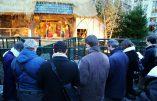 Acte de réparation après la profanation de la crèche de Noël de la Grand-Place de Bruxelles