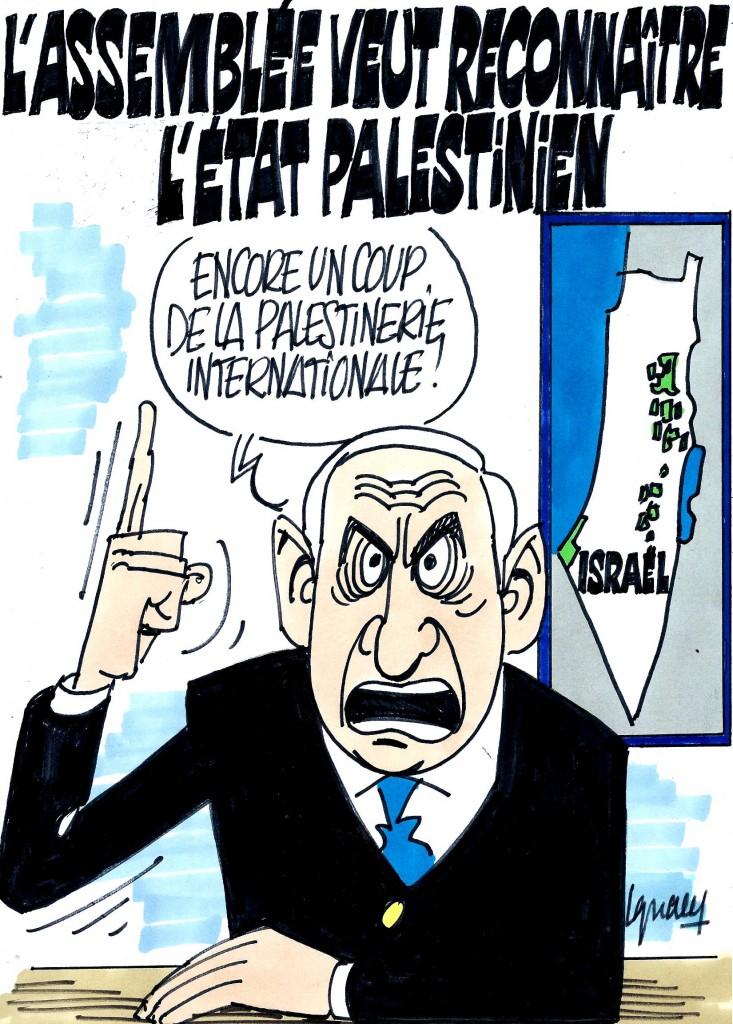 Ignace - L'Assemblée reconnaît l'état palestinien