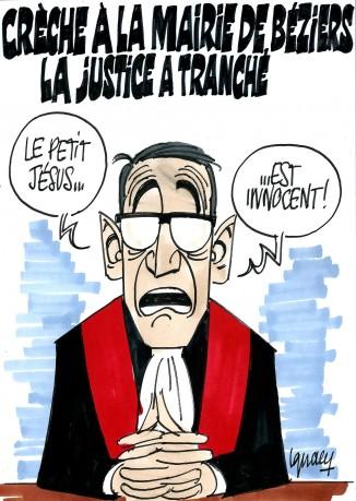 Ignace - Crèche à Béziers, la justice a tranché.