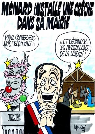 Ignace - Crèche à Béziers, laïcité menacée ?