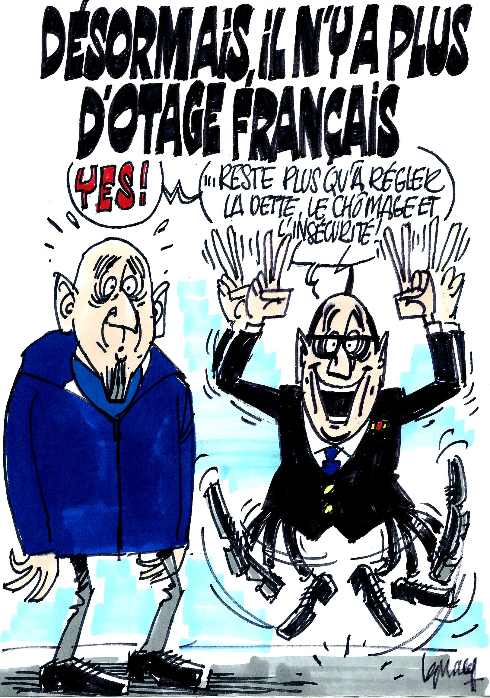 Ignace - Désormais plus d'otage français