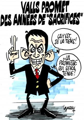 Ignace - Valls promet des années de