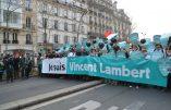 Je suis Vincent Lambert – En direct de la Marche pour la Vie à Paris