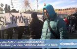 Nice : manifestation au cri de «Allah Akbar !»