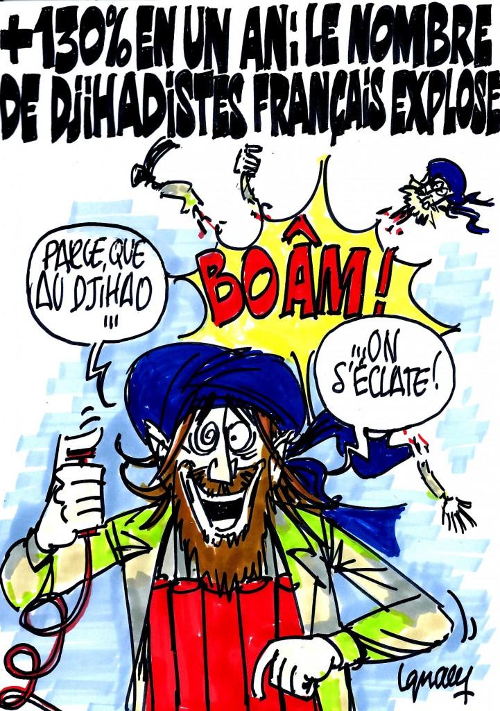 Ignace - Le nombre de djihadistes français explose