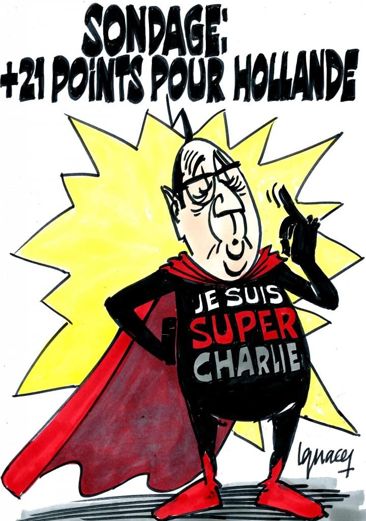 Ignace - +21 points pour Hollande