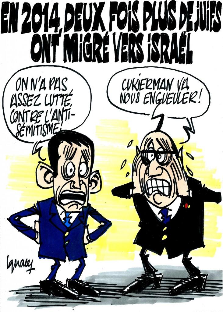 Ignace - Migration des Juifs de France vers Israël
