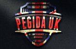Première manifestation de Pegida au Royaume-Uni