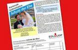 Suisse – Initiative populaire pour définir le mariage comme l'union «entre un homme et une femme»