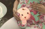 Les clips publicitaires pro-vie d'une marque de lait pour femmes enceintes