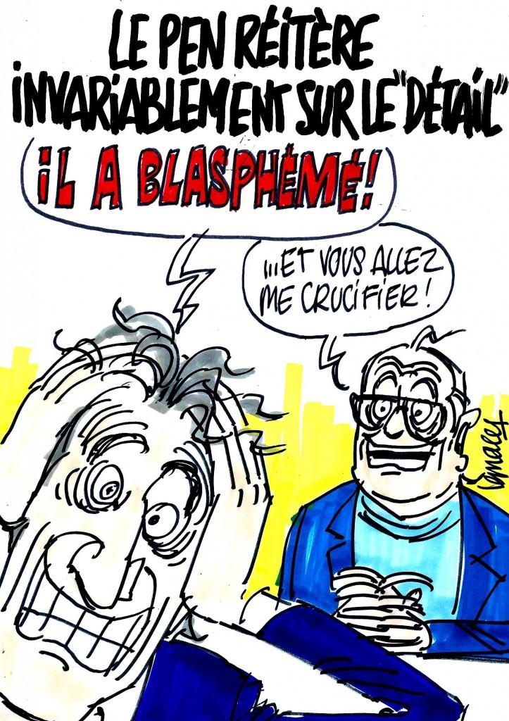 """Ignace - Le Pen réitère sur le """"détail"""""""