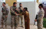 Images des Forces chrétiennes de la plaine de Ninive en Irak