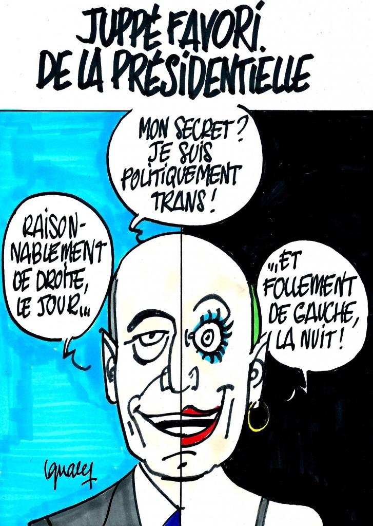 Ignace - Juppé favori pour la présidentielle