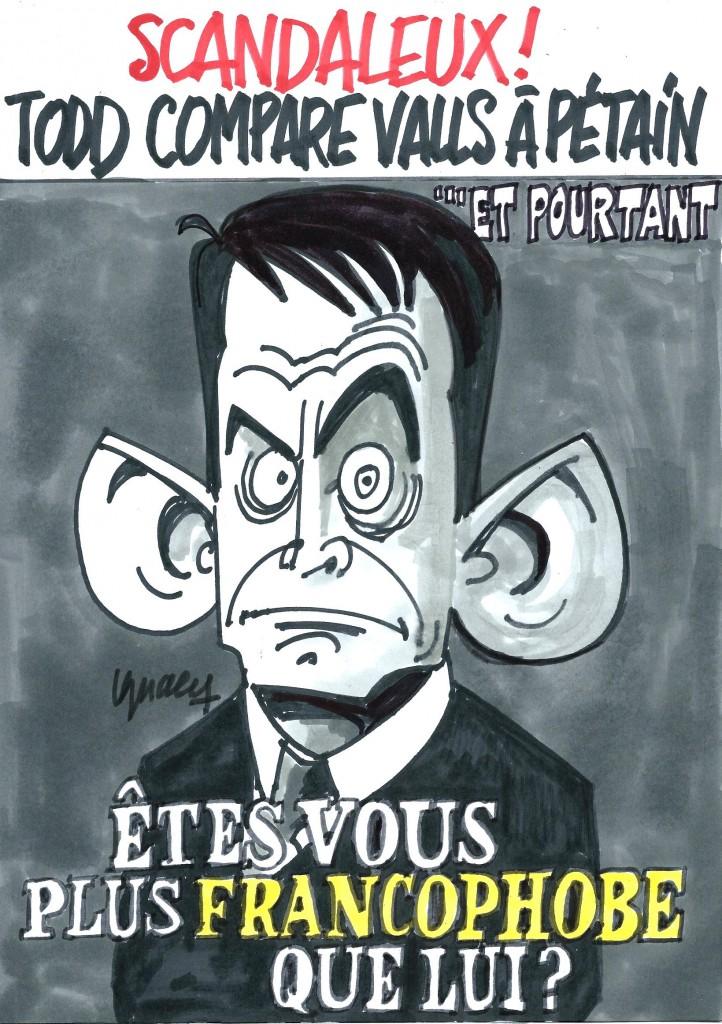 Ignace - Valls comparé au Maréchal par Todd