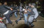 Juifs noirs gazés par la police à Tel Aviv ! Israël en proie aux émeutes raciales