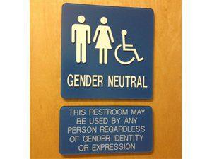 TOILETTES gender neutral