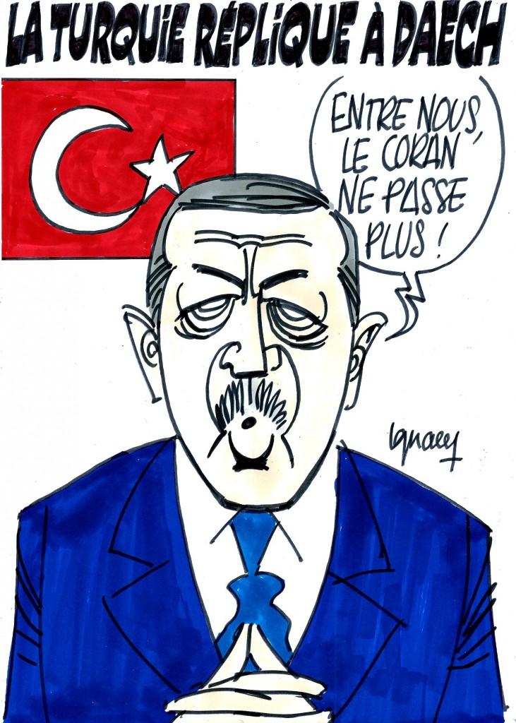 Ignace - La Turquie réplique à Daech