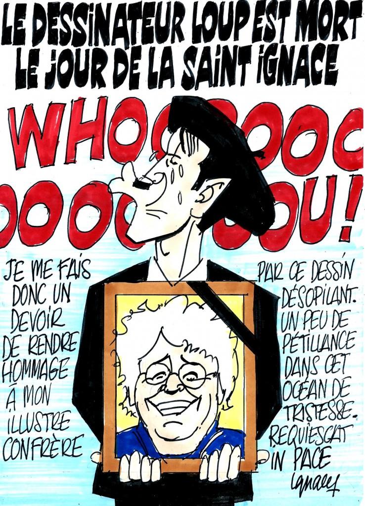 Ignace - Décès du dessinateur Loup