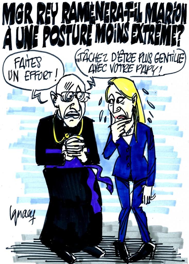 Ignace - Marion Maréchal-Le Pen invitée par Mgr Rey