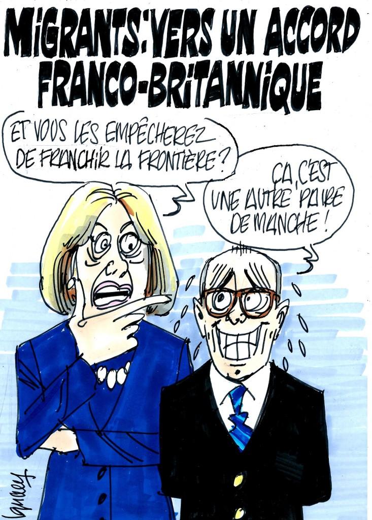 Ignace - Migrants : vers un accord franco-britannique