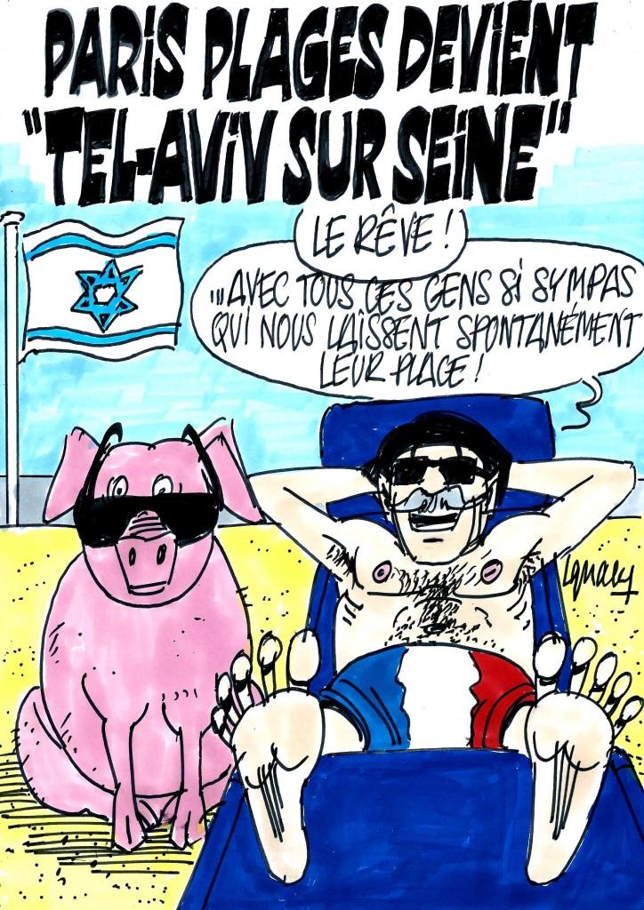 """Ignace - Paris plages devient """"Tel Aviv sur seine"""""""